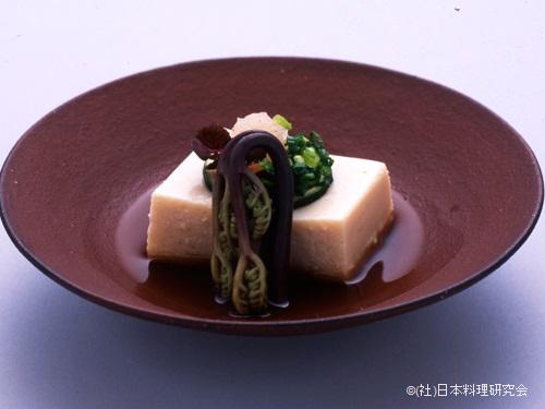 鯛白子豆腐