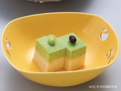畦豆二身豆腐