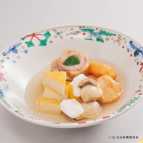 海老糝薯パン苞揚、椎茸糸掛け糝薯、笹掻き牛蒡かりかり揚、地魚アスパラ揚カレー