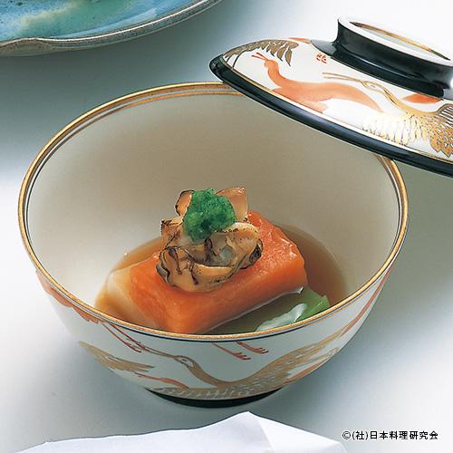 焼蛤・三色豆腐