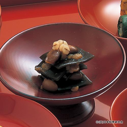 昆布・煎り大豆押し麦ほど煮