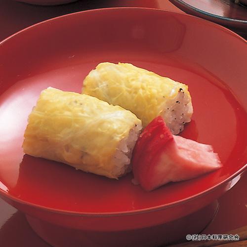 白菜寿司、赤蕪津軽漬