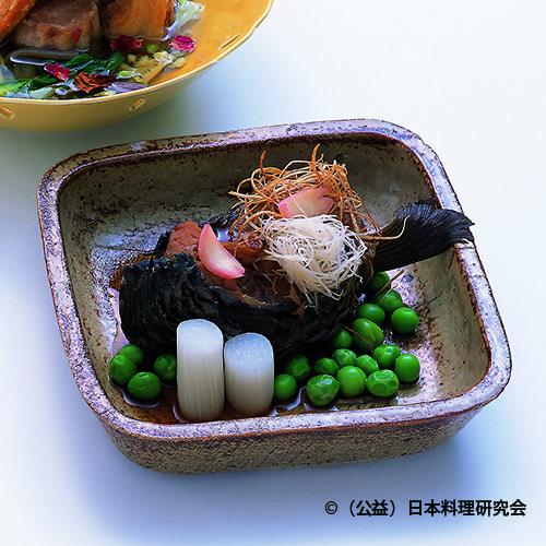 鯉甘煮葡萄風味