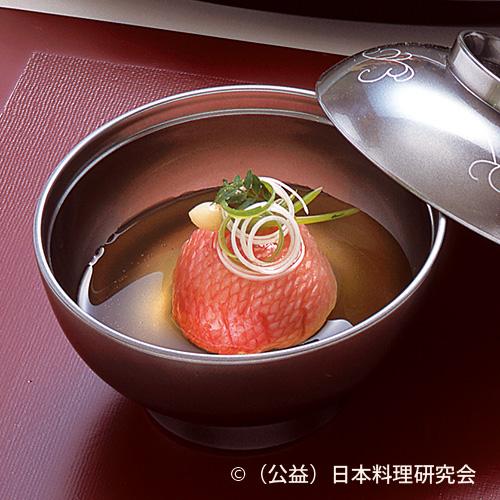 潮仕立 金目鯛糝薯