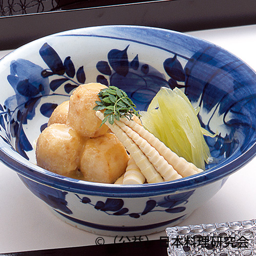 揚新馬鈴薯芥子餡掛け