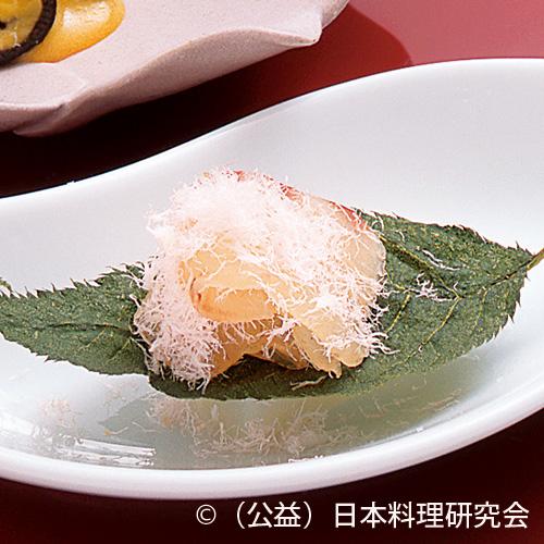 桜鯛香り〆