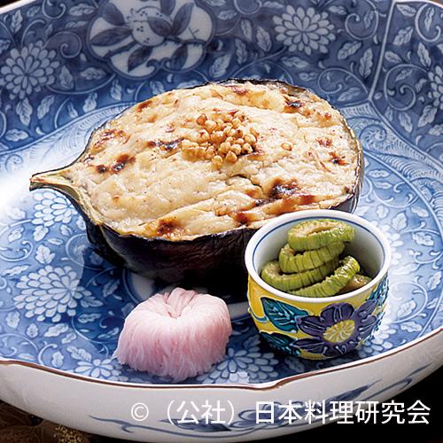 賀茂茄子蕎麦の実グラタン