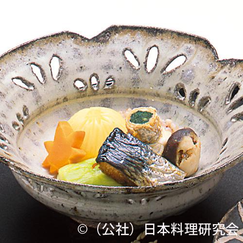 鰊・秋茄子、裏白鮪酒盗椎茸