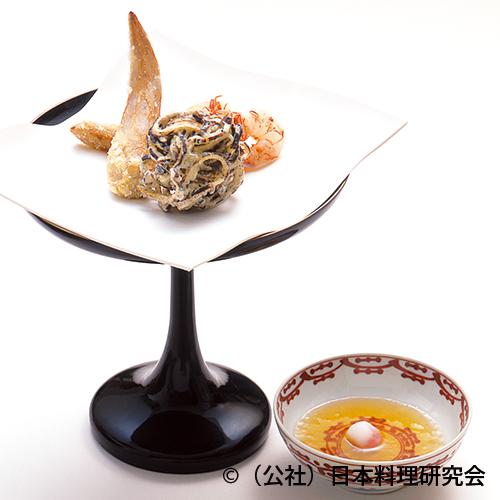 海老芋東坡揚