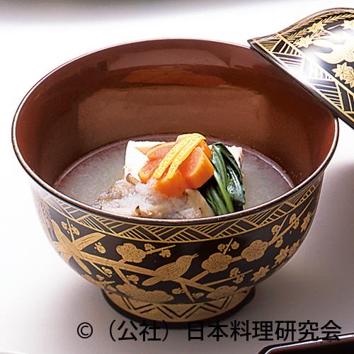 牡蠣豆腐、蕪ら霙仕立