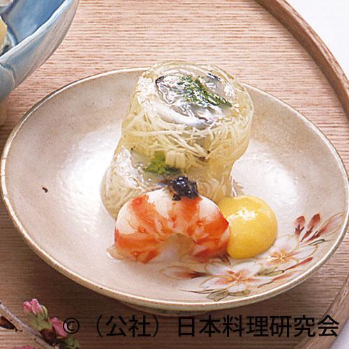 細魚・菜の花長芋巻